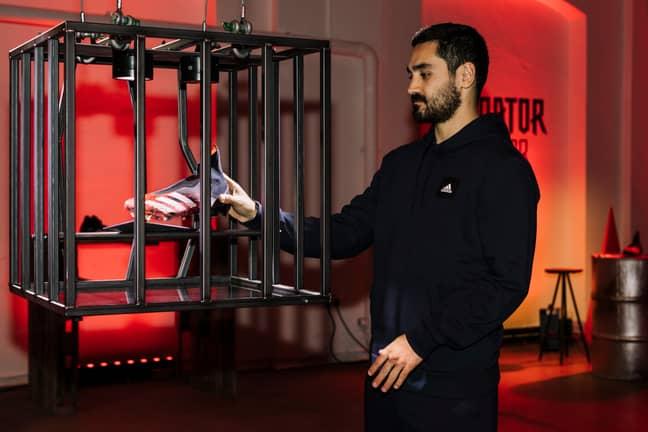 Ilkay Gundogan was speaking at the launch of the new Adidas Predator boots