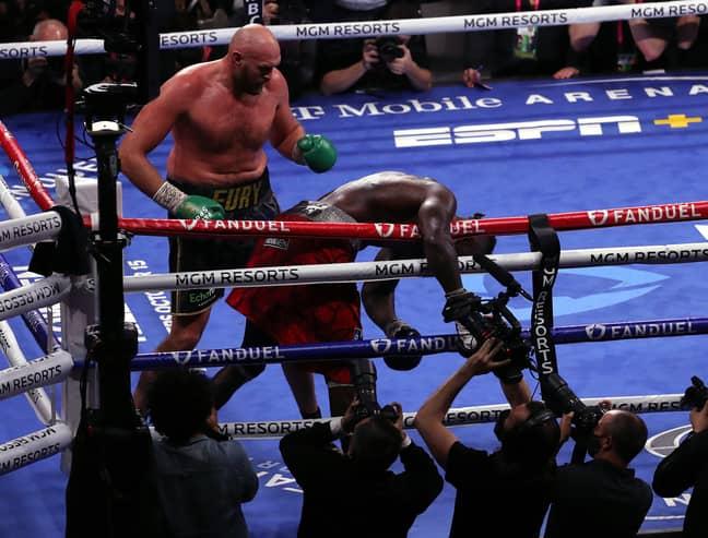 PA: Tyson Fury knocks out Deontay Wilder