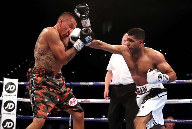 Khan defeats Samuel Vargas last time out. Image: PA Images