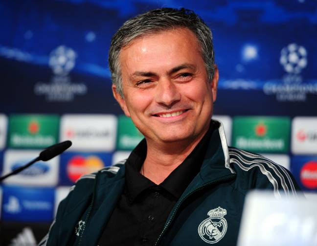 Jose won La Liga with Real. Image: PA Images