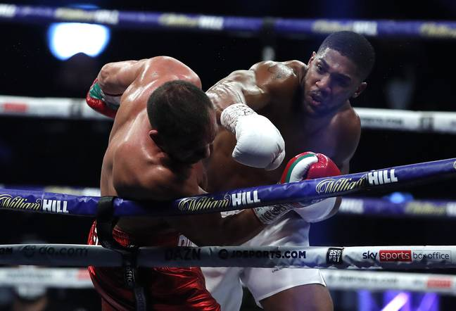 Joshua beat Kubrat Pulev in his last fight in December 2020. Image: PA Images