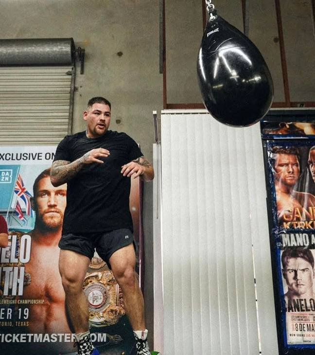 Image: Andy Ruiz Jr