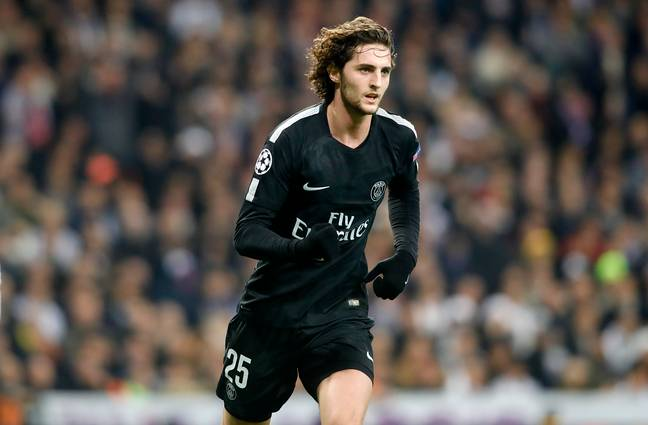 Rabiot is on his way out for PSG. Image: PA Images