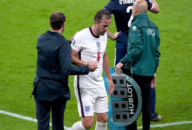 Kane has been subbed off in both England games so far. Image: PA Images