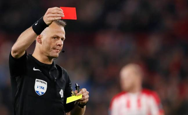 Kuipers is well known for brandishing a card or two