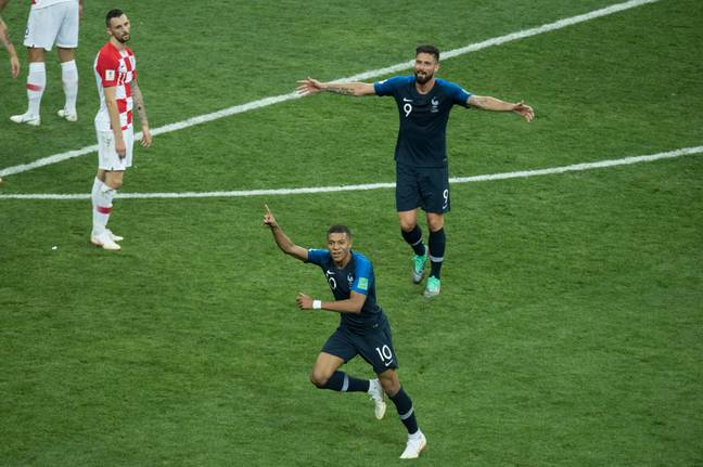 Getting the ball forward quickly to Mbappe worked a treat. Image: PA Images