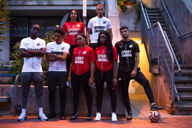 SPORTbible's logo will feature on Rising Ballers kits this season