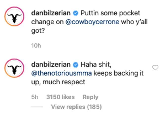 Image: Instagram/DanBilzerian