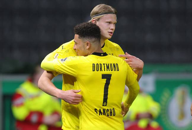 Sancho wears seven in Germany but looks set to change. Image: PA Images