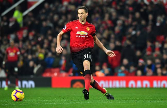 Matic could move on after just two years at Old Trafford. Image: PA Images