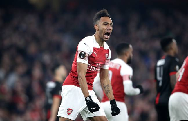 Aubameyang has been brilliant for Arsenal since his move. Image: PA Images