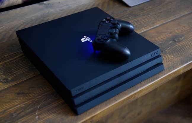 A Sony Playstation 4 Pro. Credit: PA