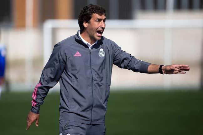 Former Real Madrid striker Raul Gonzalez currently manages Real Madrid's Castilla reserve team