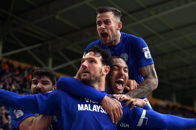 Cardiff kept themselves in pole position for promotion last weekend. Image: PA Images