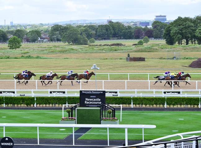 Newcastle Racecourse, Home Of The First Meeting. Credit: PA