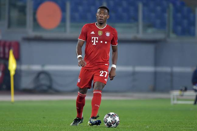 Alaba's absence will be a life for Steve Clarke's side. Image: PA Images