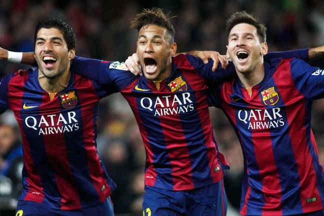 The MSN trio is now completely split up. Image: PA Images