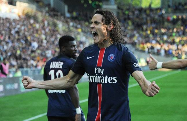 Cavani is PSG's all time top scorer. Image: PA Images