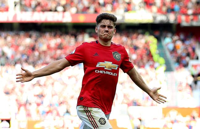 Daniel James has been one of United's best players this season, which isn't saying much. Image: PA Images