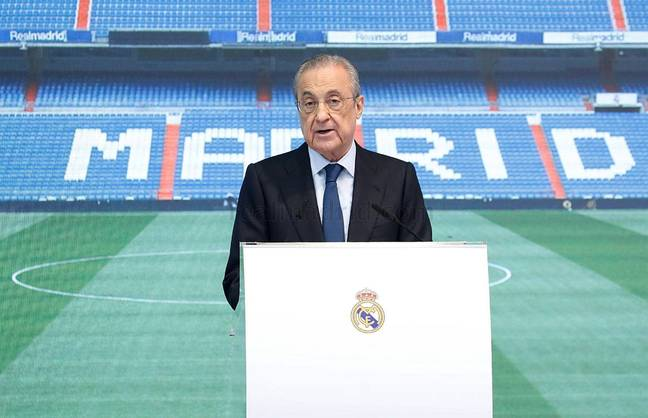 Perez is the president of the European Super League and is determined to keep it going. Image: PA Images