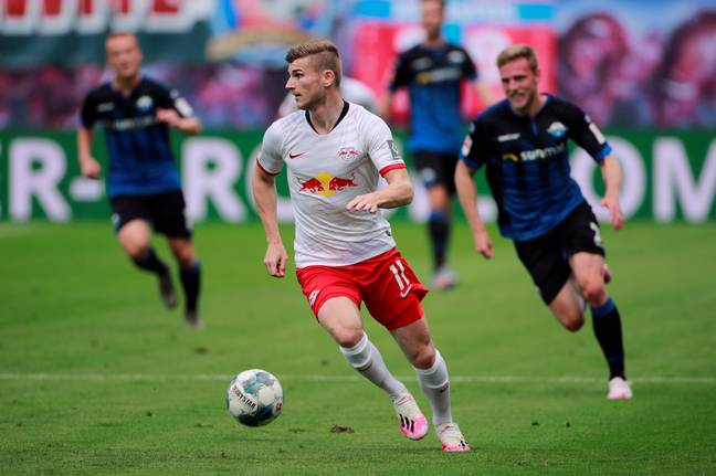 Werner is hoping to be the next big hit to move to the Premier League from the Bundesliga. Image: PA Images