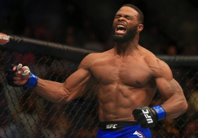 Tyron Woodley is a former UFC welterweight champion