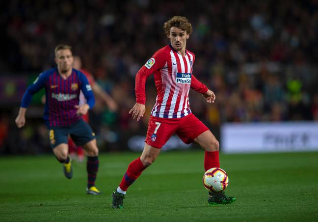 Griezmann became one of the best forward's in Europe during five years at Atletico. Image: PA Images