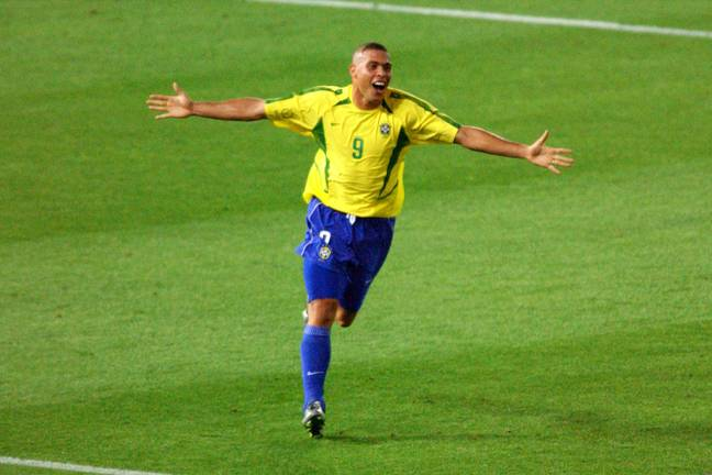 Ronaldo celebrates his goal in the final. Image: PA Images.