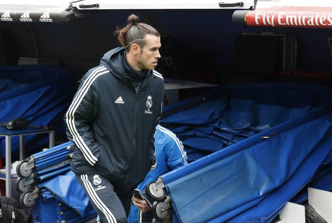 Bale ended the season as an unused sub in what could be his last game for Real. Image: PA Images