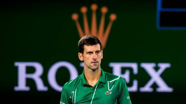 Novak Djokovic. Credit: PA