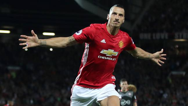 Zlatan scored 28 goals in all competitions last season. Image: PA Images
