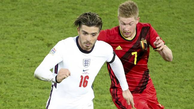 Grealish and Kevin De Bruyne will link up in the heart of City's midfield