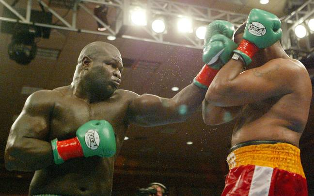 Toney in his fight against Rydell Booker in 2004. Image: PA Images