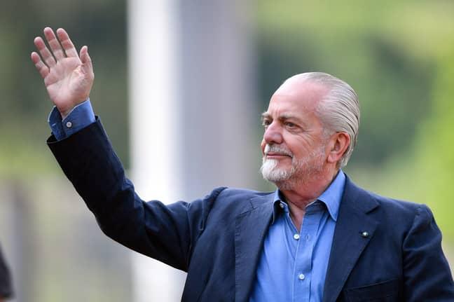 Aurelio De Laurentiis has been a controversial figure in Italian football recently. (Image Credit: PA)