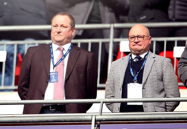 Will Mike Ashley ever sell the club? Image: PA Images
