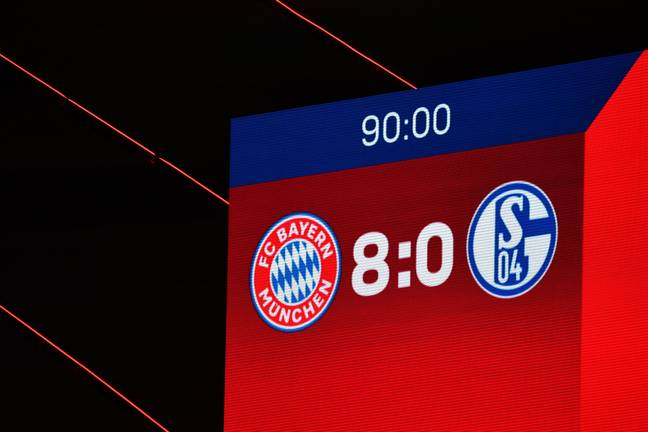 Bayern utterly demolished Schalke. Image: PA Images