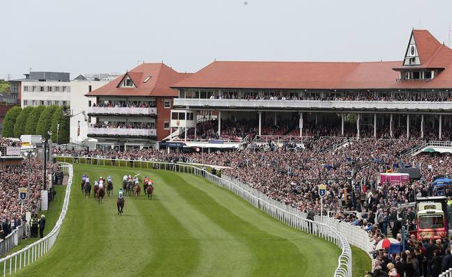 Racing at Chester Racecourse returns on Wednesday, but racing will be behind closed doors