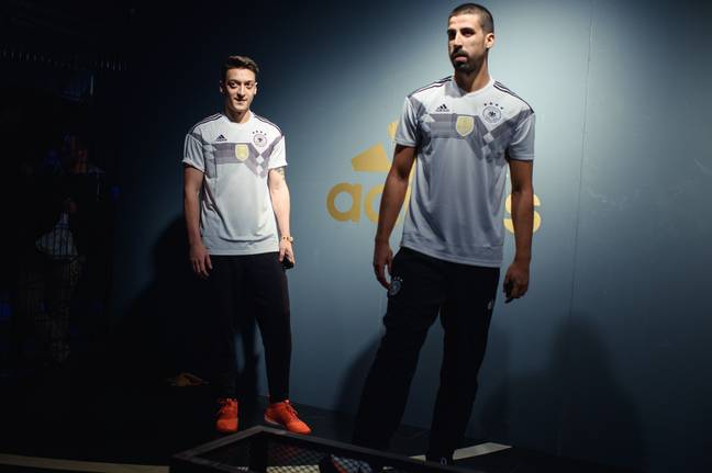 Germany's home kit. Image: Adidas