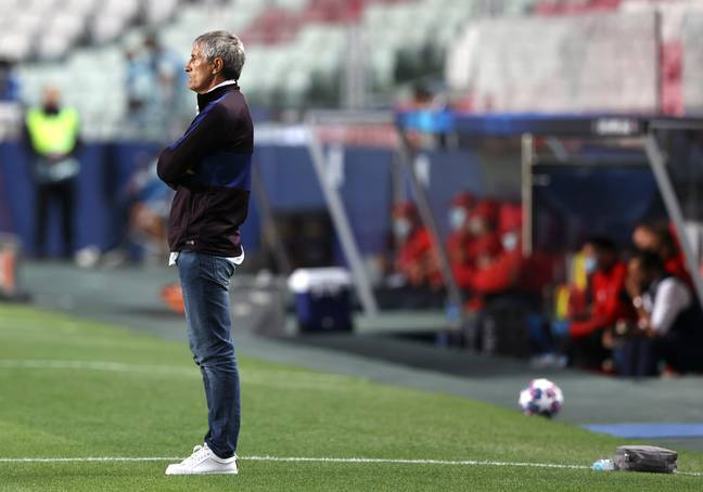 Setien will certainly be sacked. Image: PA Images