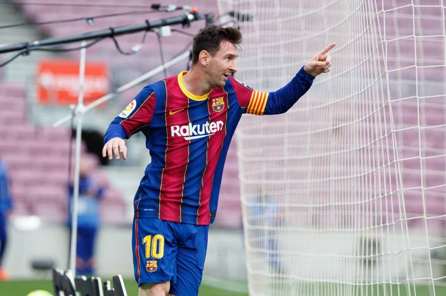 Messi was integral to Barcelona once again last season despite questions over his future persisting. Image: PA Images