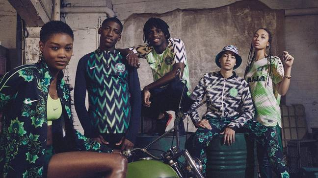 Nigeria's whole clothing range for the summer is incredible. Image: Nike