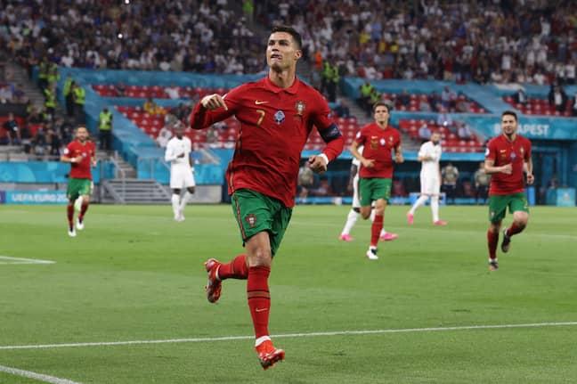 Cristiano Ronaldo. Credit: PA