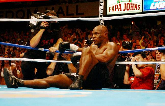 Mike Tyson hasn't fought since 2005. Credit: PA