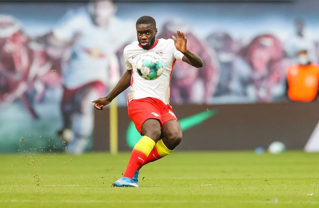 RB Leipzig's most valuable player Upamecano is leaving for Bayern Munich. Image: PA Images