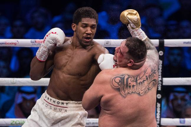 Joshua dominated Ruiz. Image: PA Images