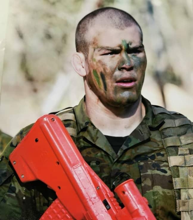Jake Matthews has joined the Australian army. Credit: Instagram / Jake Matthews
