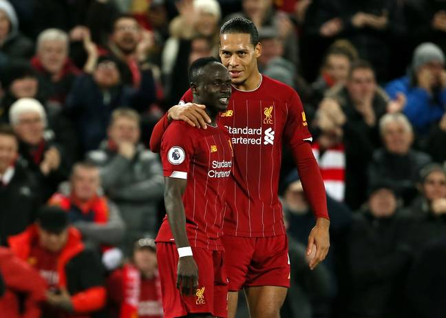 Van Dijk and Mane have enjoyed terrific seasons. (Image Credit: PA)