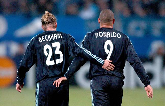 Beckham and Ronaldo remained friends after the duo left in 2007. (Image Credit: PA)