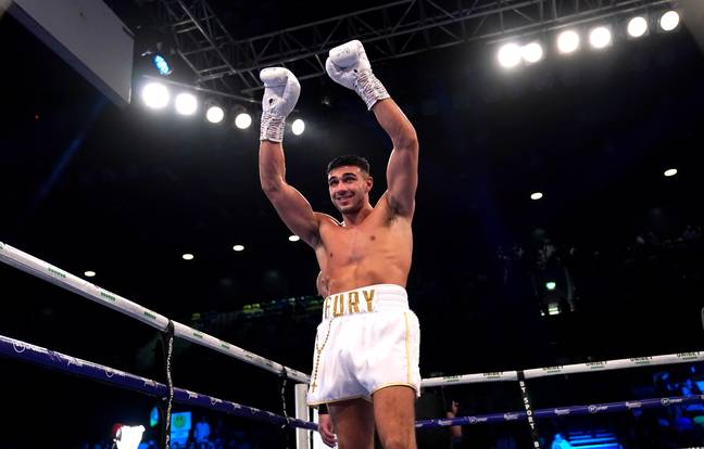 Tommy Fury has three wins from three fights in his own fledgling boxing career. Credit: PA