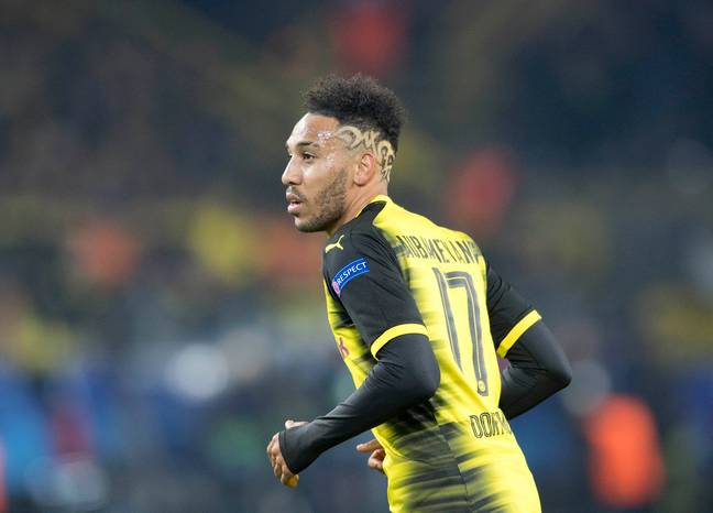 Aubameyang has long been linked with moves away from Dortmund. Image: PA Images.